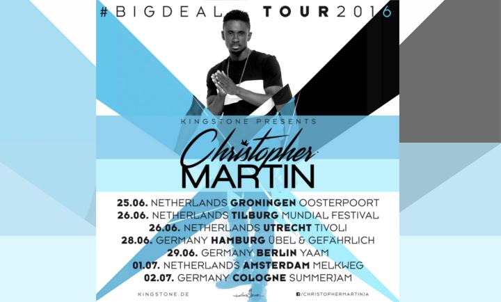 christopher martin tour