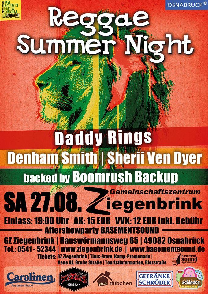 Reggae Summer Night - Kingstone
