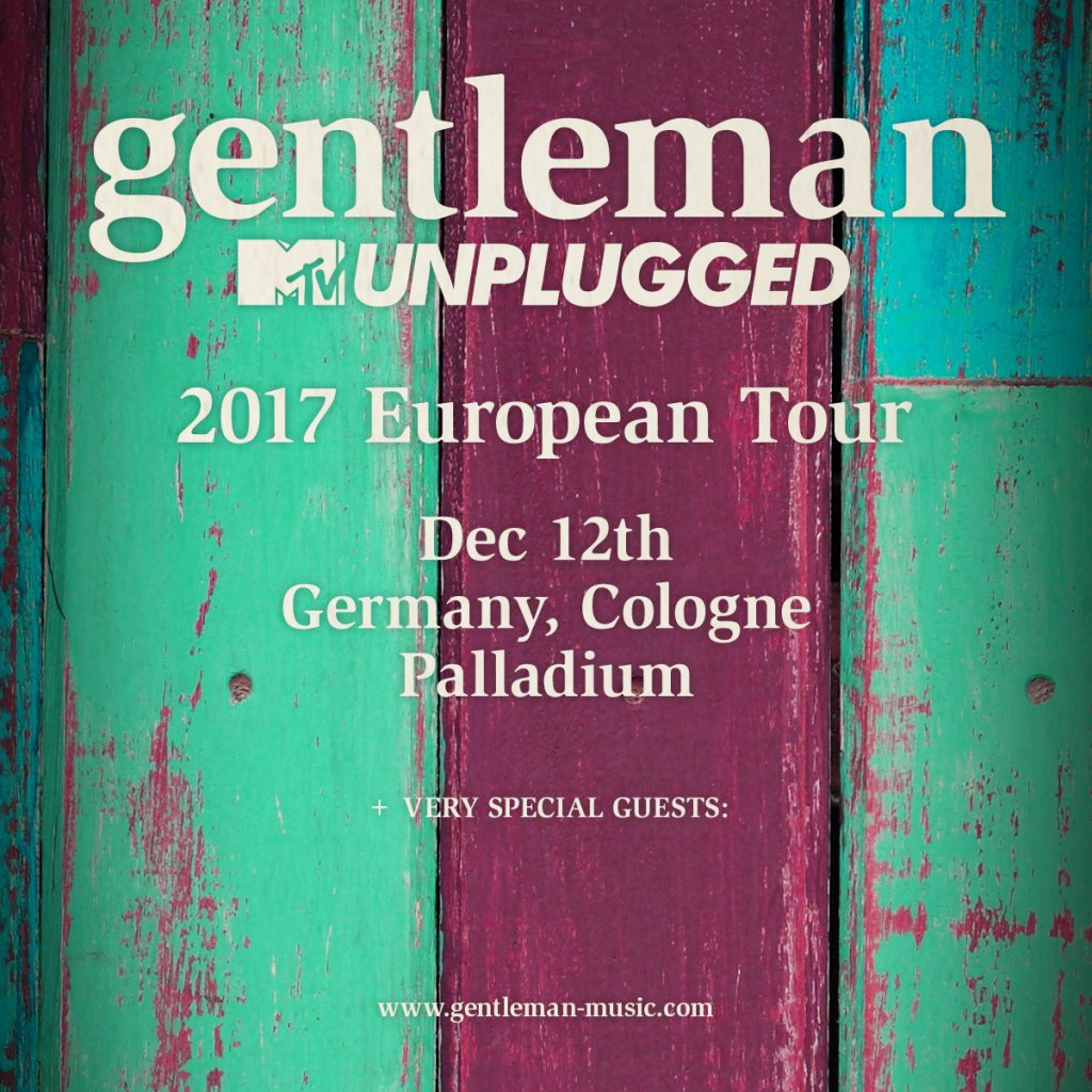 gentleman unplugged tour