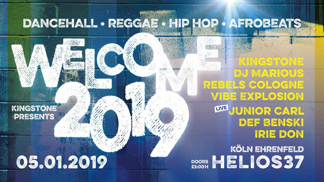 Welcome Cologne 2019 with good Vibes – Kingstone presents
